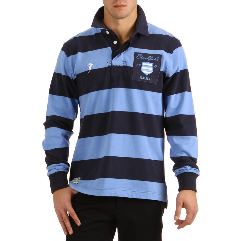 Striped Polo Classic Blue