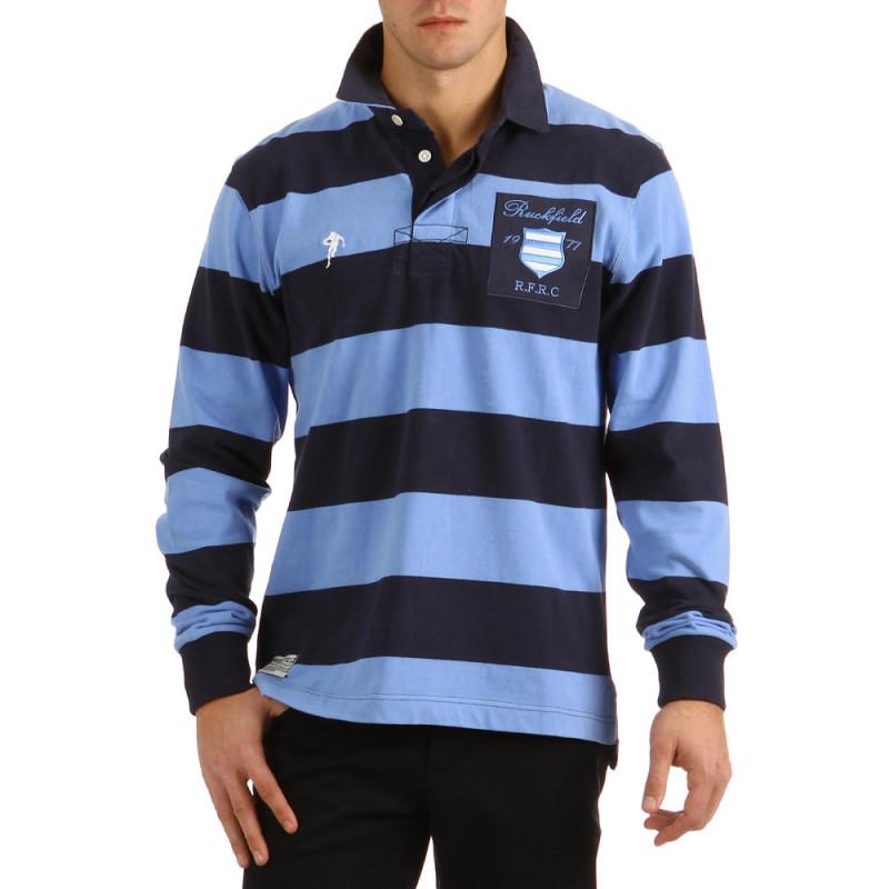 Striped Polo Classic Blue