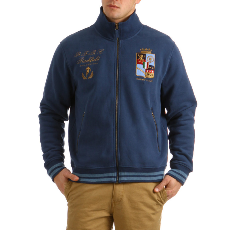 Hooded Zip Italia