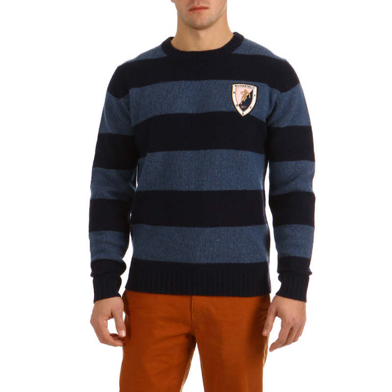 Striped Pull Rugby Classic
