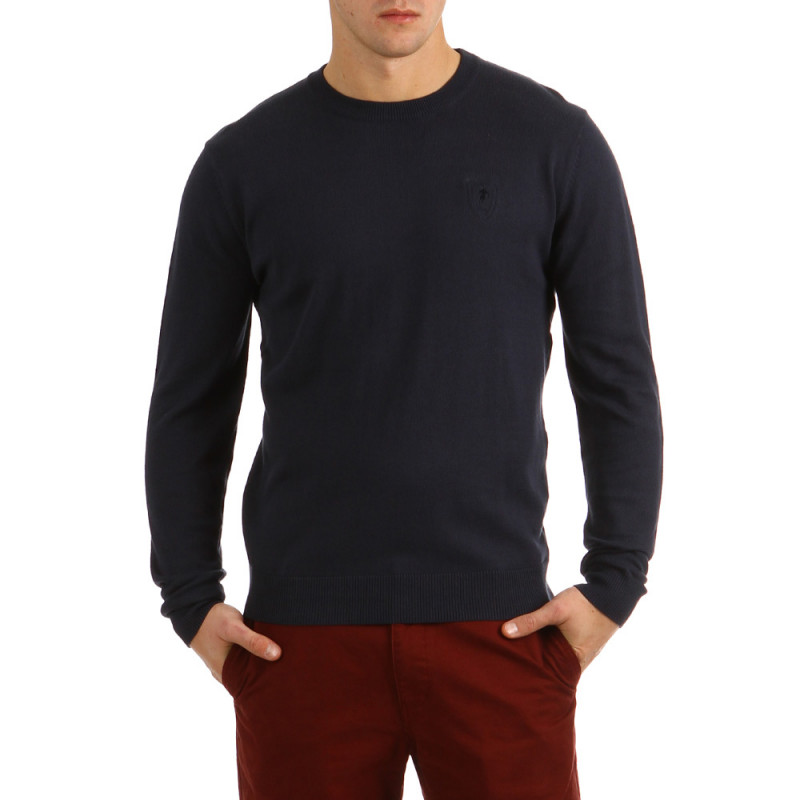 Elbow Patches Sweater Rugby Classic