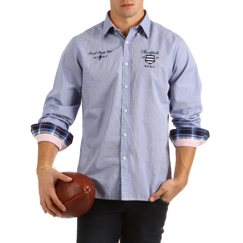 Embroidered Shirt Rugby Classic