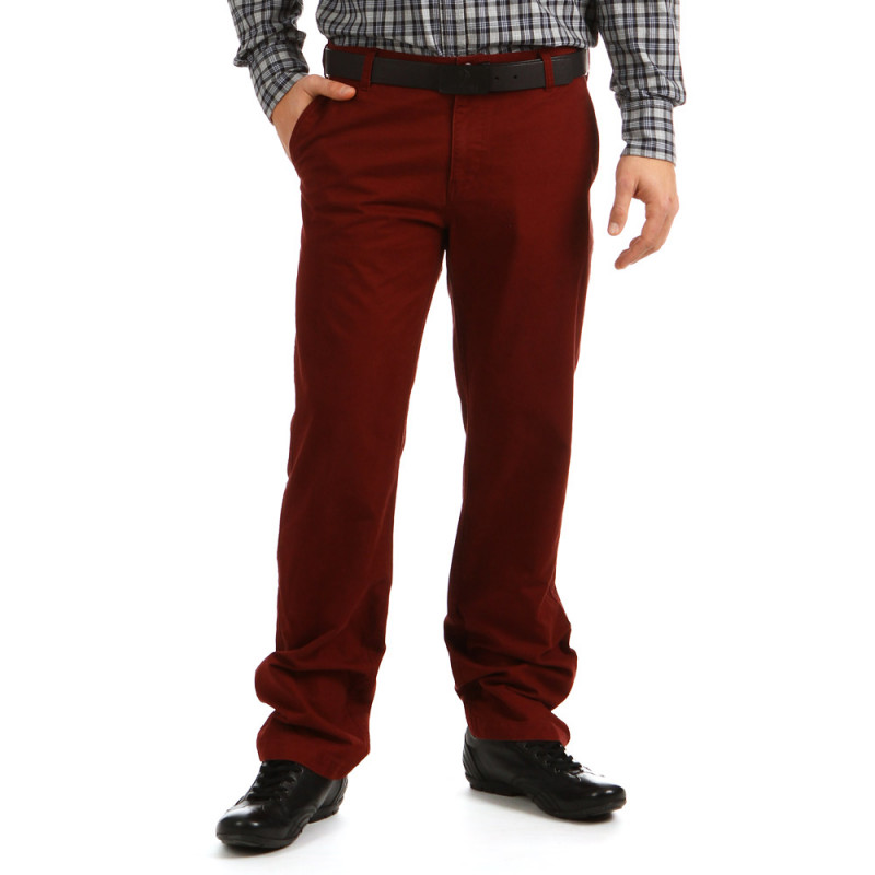 Chinos Bordeaux
