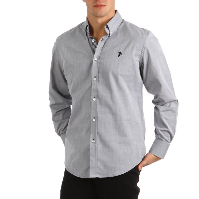 Plain Shirt Silver