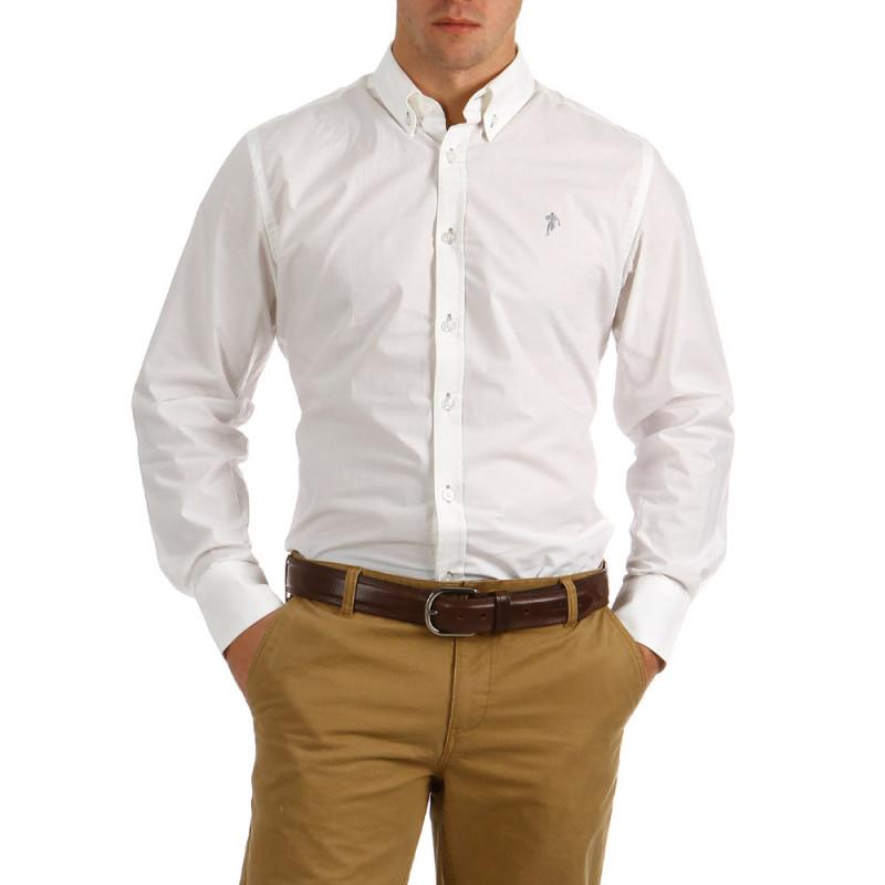 Plain Shirt Essentiels White