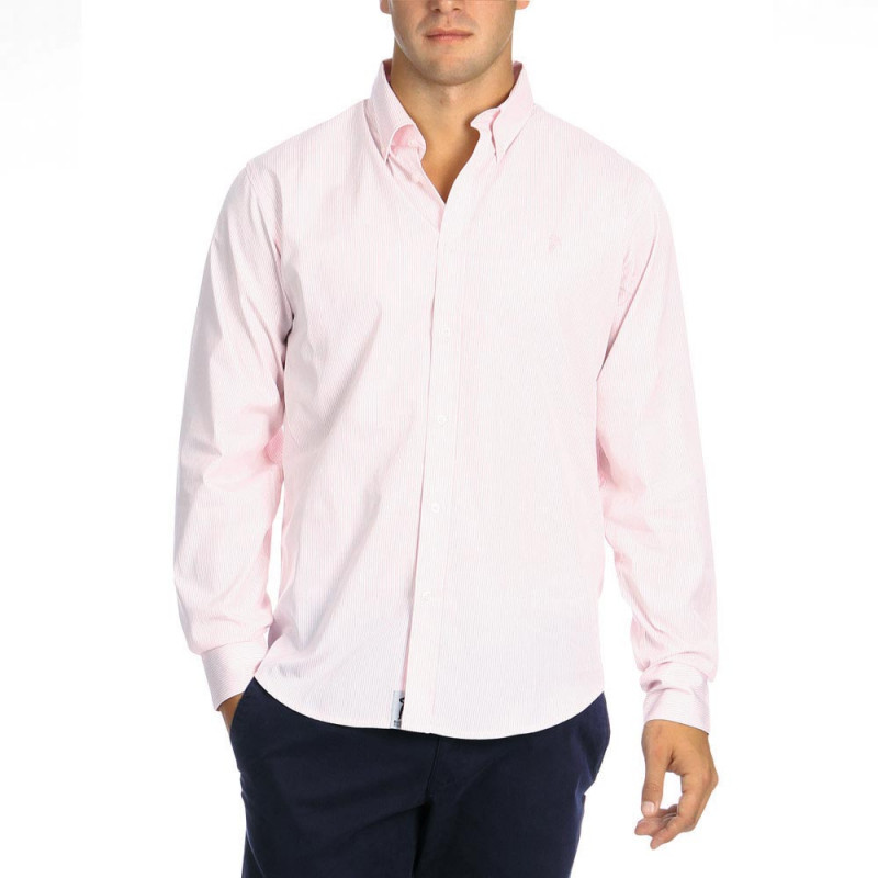 Striped Chabal Shirt Pink