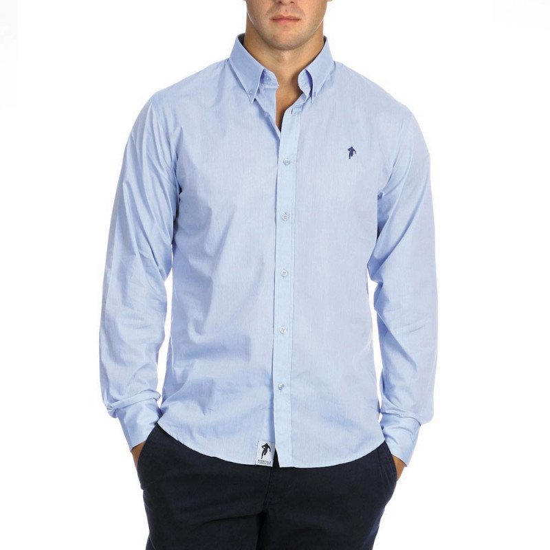 Plain Chabal Shirt Blue