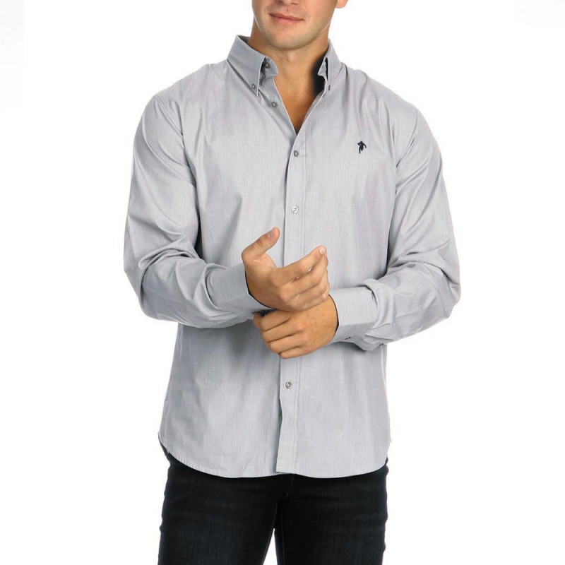 Plain Shirt Chabal Grey