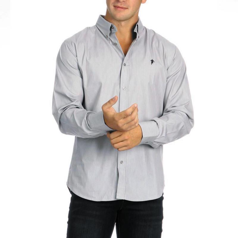 Plain Shirt Chabal Grey