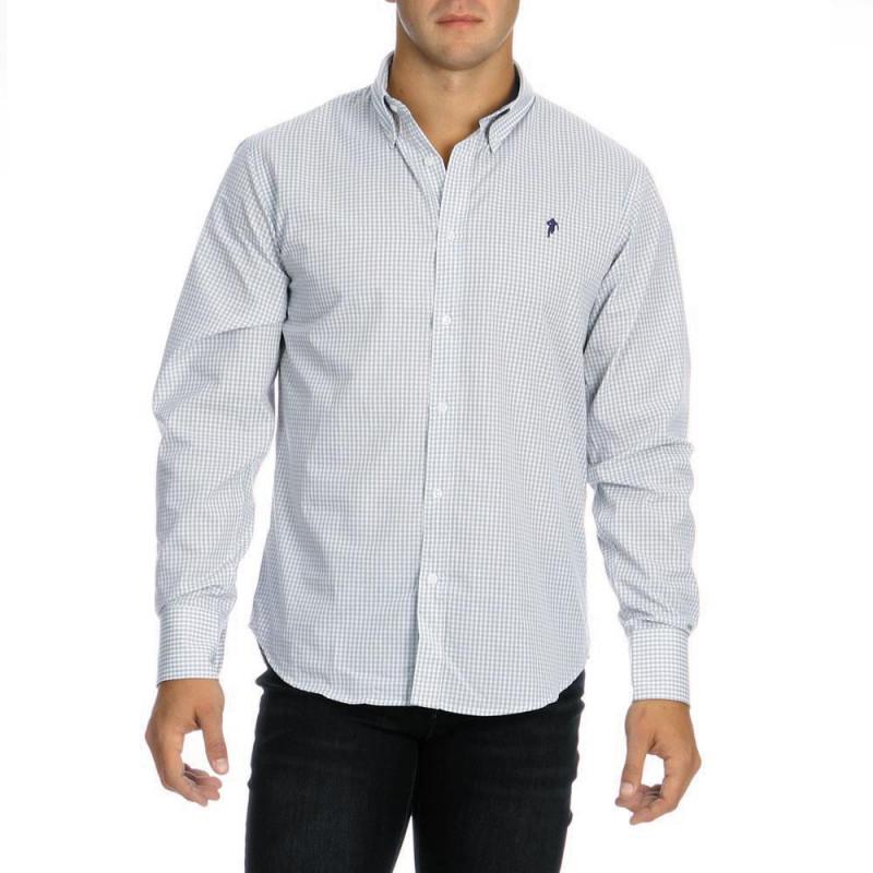 Checked Chabal Shirt Grey