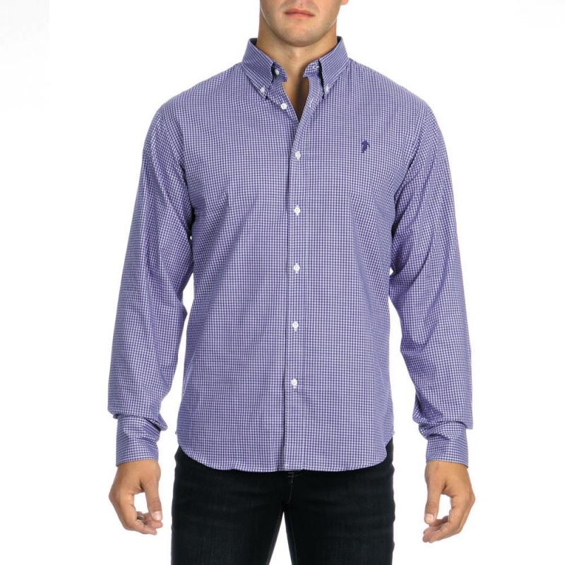 Micro Checked Chabal Shirt