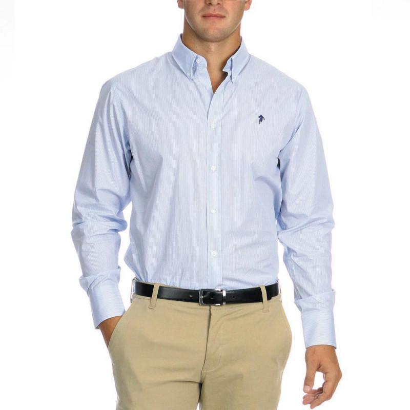 Striped Shirt Chabal Sky Blue