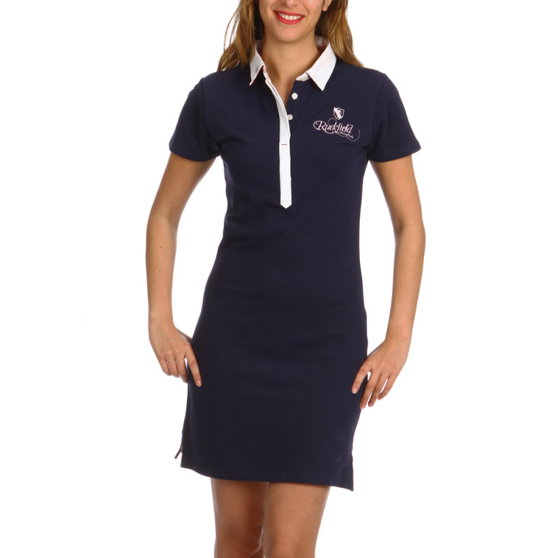 Women's polo shirt dress