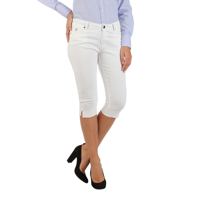 Essentials beige capri pants