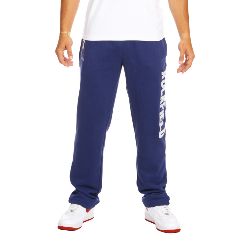 Blue sport sweat pants