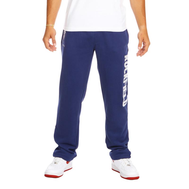 Blue sport sweat pants