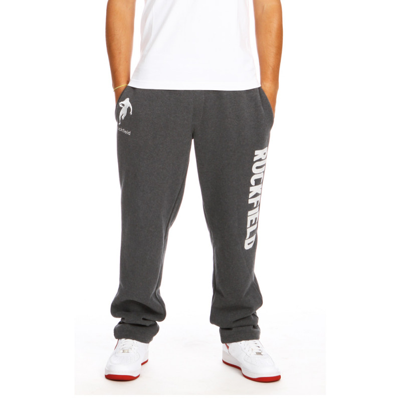 Grey sport sweat pants
