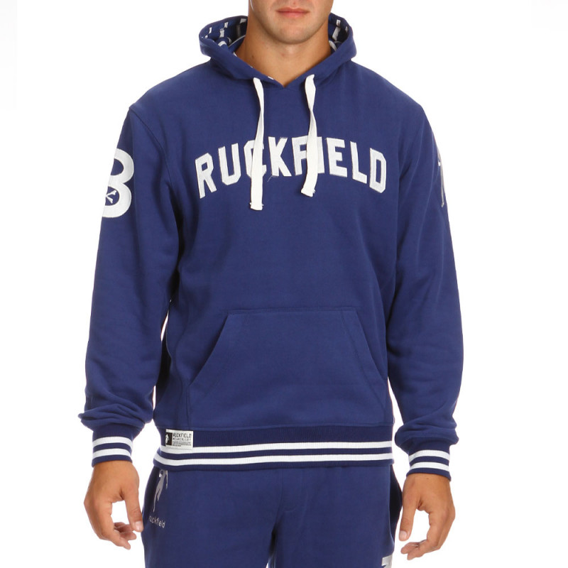 Blue sport rugby sweatshirt