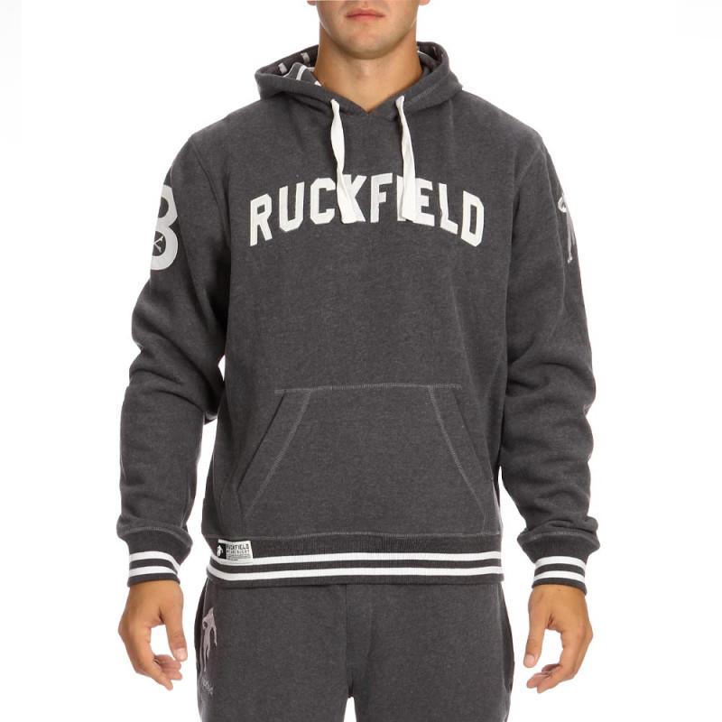 Grey sport rugby sweatshirt