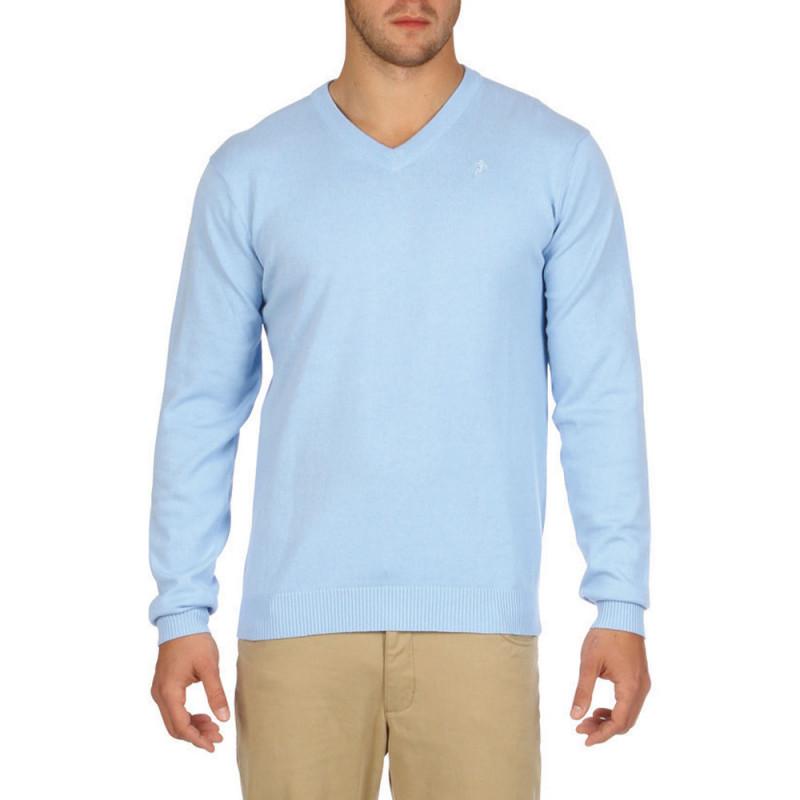 Essentials sky blue jumper