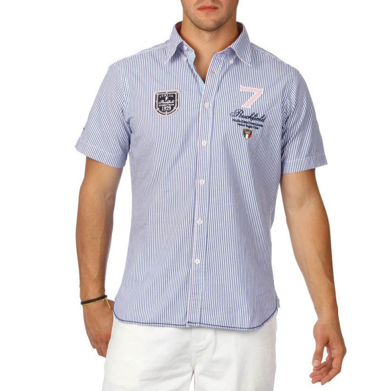 Italia Team striped shirt