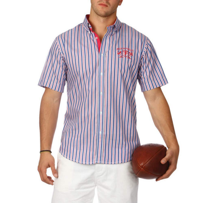 Rugby Conquest striped shirt