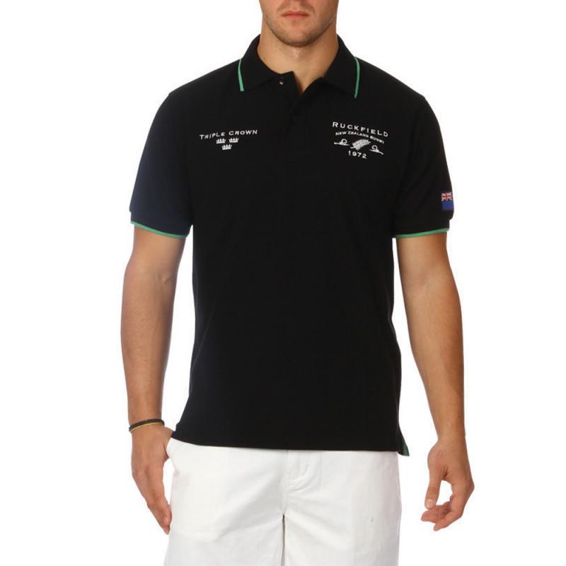 New Zealand piqué cotton polo shirt