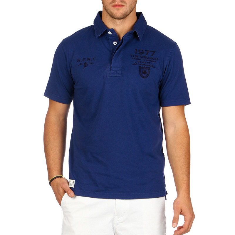 Frenchy jersey polo shirt