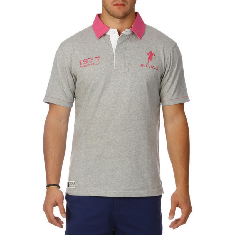 Touch gingham polo shirt