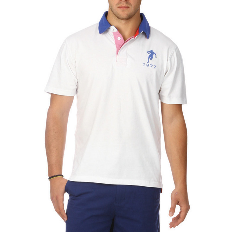 Colours Chabal white polo shirt
