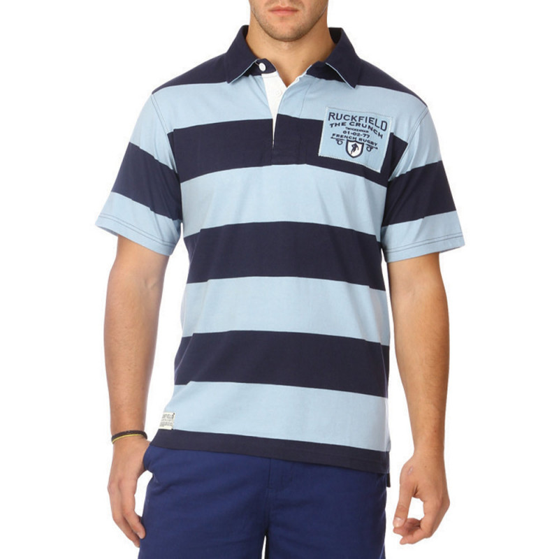 Classic The Crunch striped polo shirt