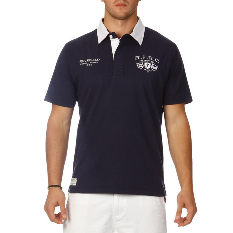 Classic French Rugby polo shirt