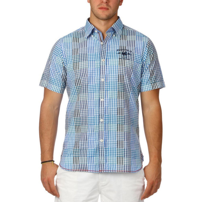 Blue summer shirt