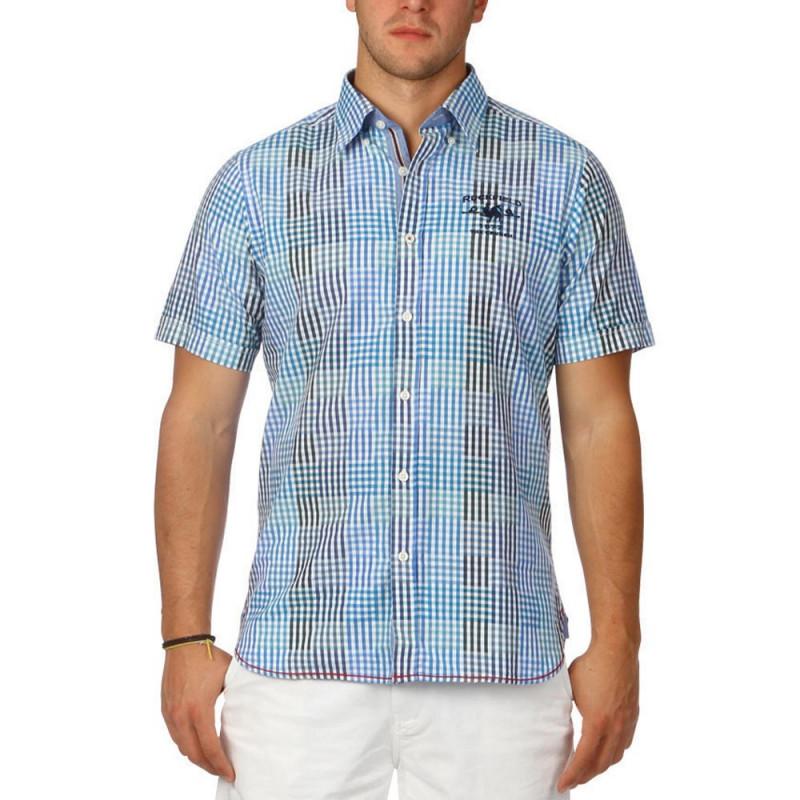 Blue summer shirt