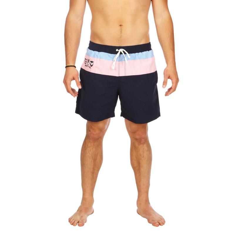 Three-colour Frenchy board shorts