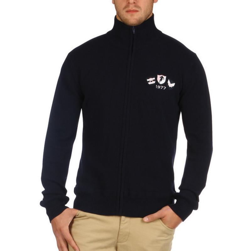 Classic Sportswear navy cardigan