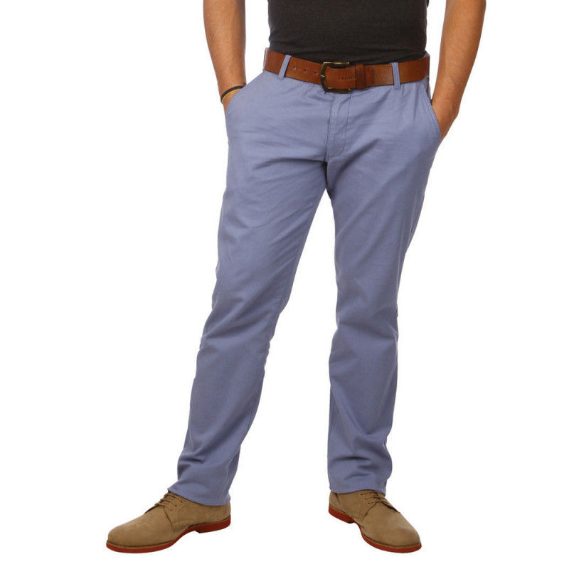 Essential blue chinos