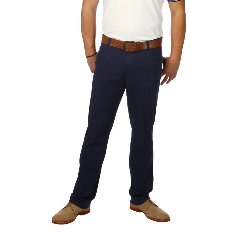 Chabal navy blue trousers