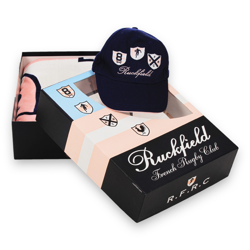 Pack Beach towel + Cap