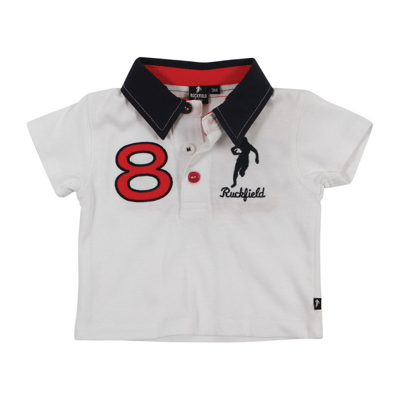Baby France Supporter polo shirt