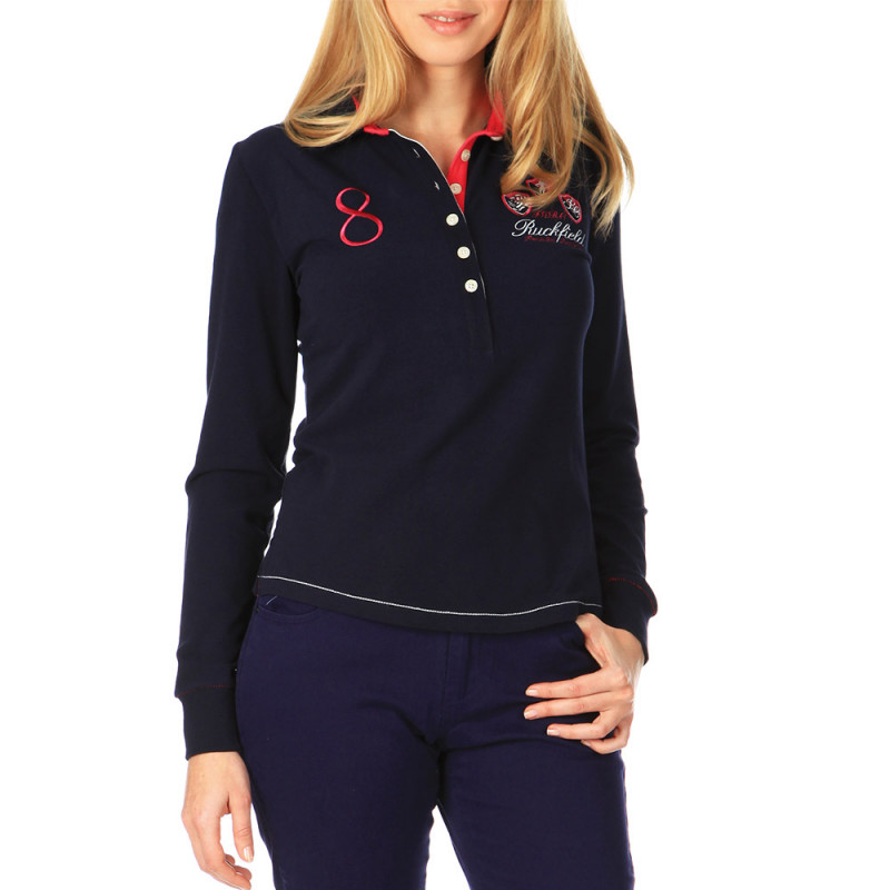 Women's Soft Cotton Polo Shirt