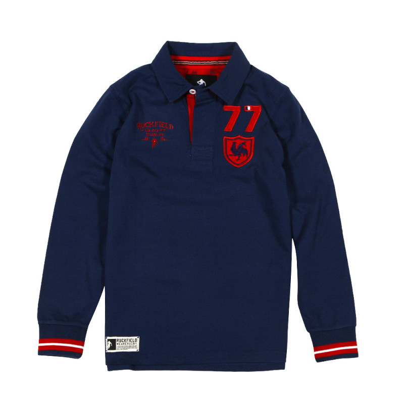 Seventy-seven Kids' Rugby polo shirt