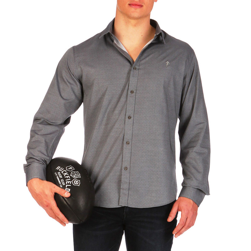 Grey Rugby Players shirt