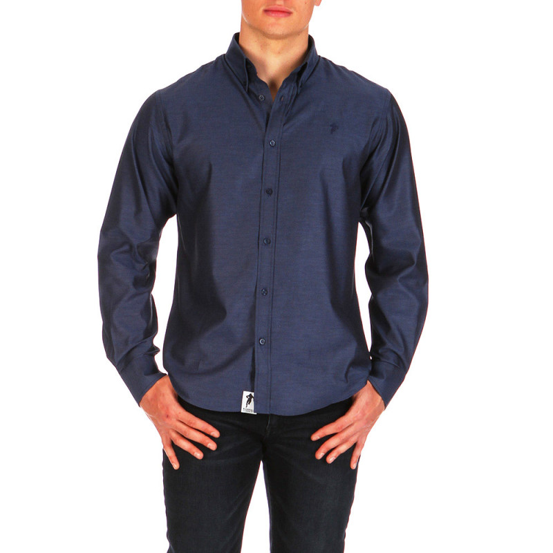 Navy blue Classic Chabal shirt