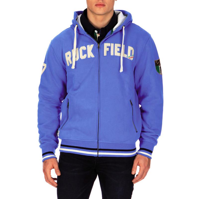 Italia Rugby zip-up hooded sweatshirt