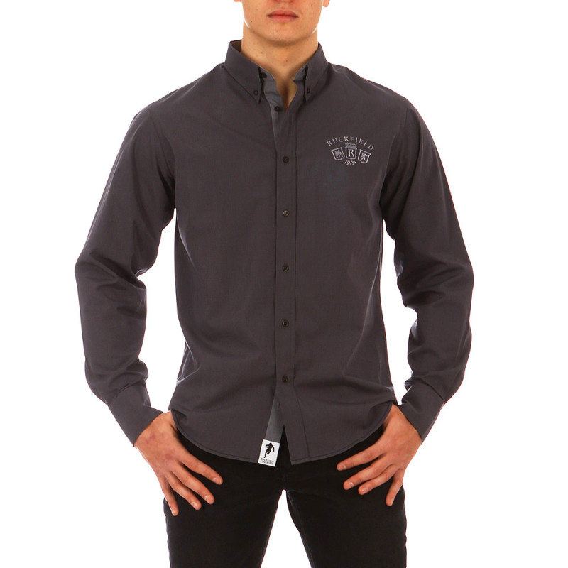 French Rugby Club charcoal grey shirt