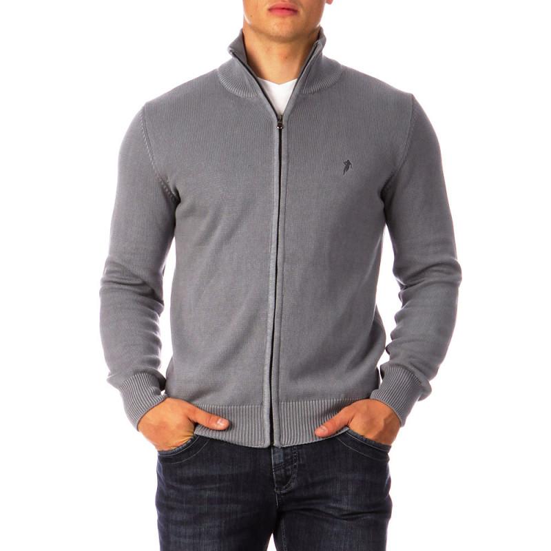 Essential Rugby grey cardigan