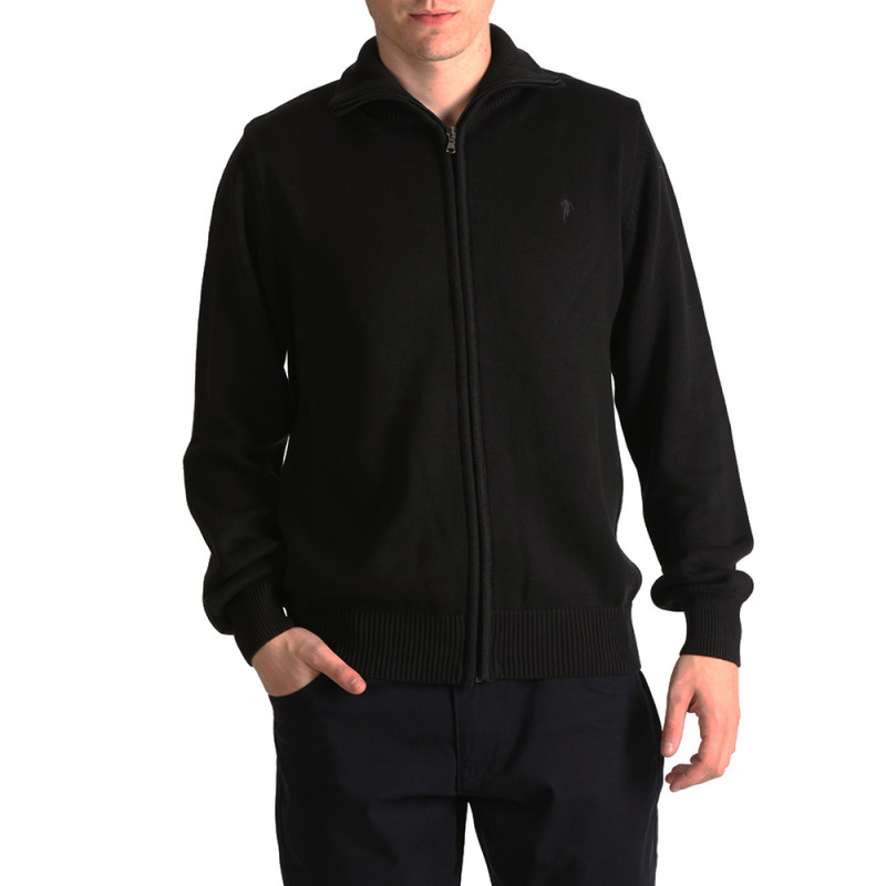Essential Rugby black cardigan