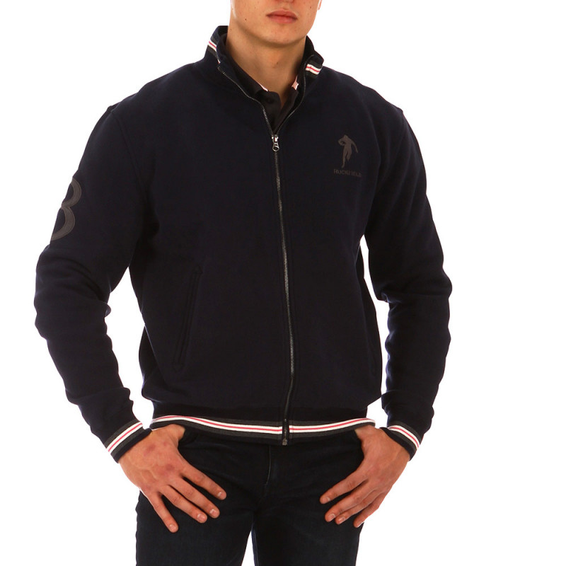 Rugby Sport zip-up cardigan