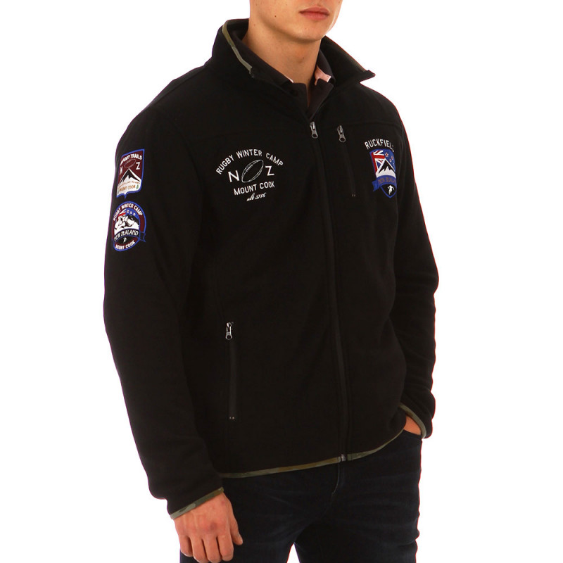 Rugby Winter Camp fleece cardigan
